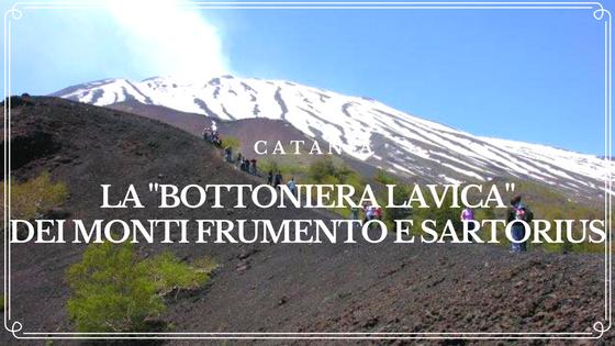 La -bottoniera lavica-dei monti Frumento e Sartorius